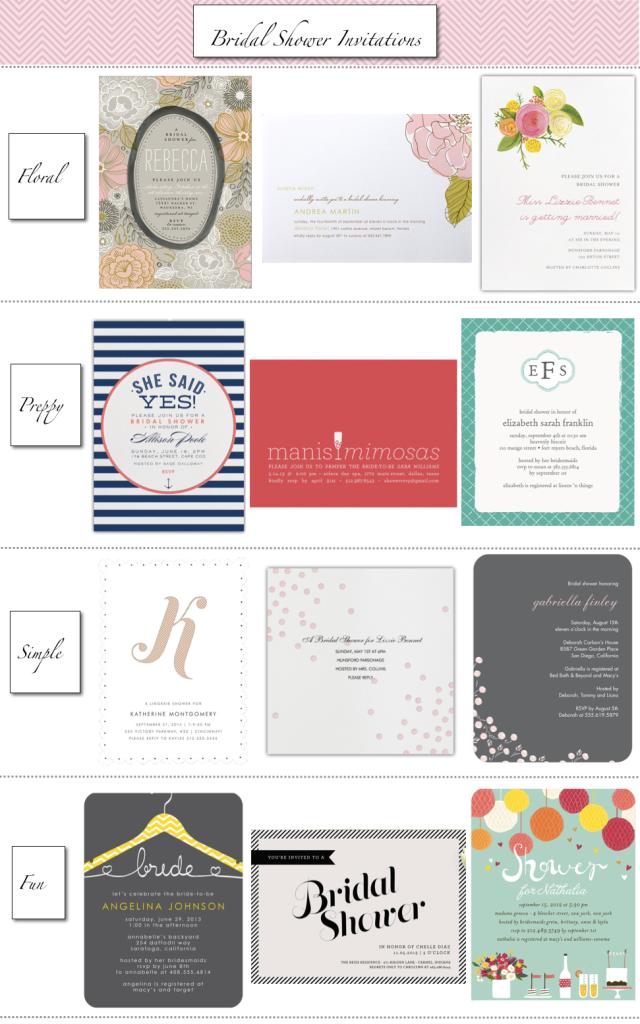 Bridal Shower Invitations…la loves blog