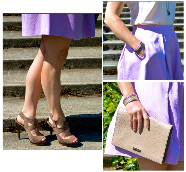 Purple Skirt lalovesblog.com
