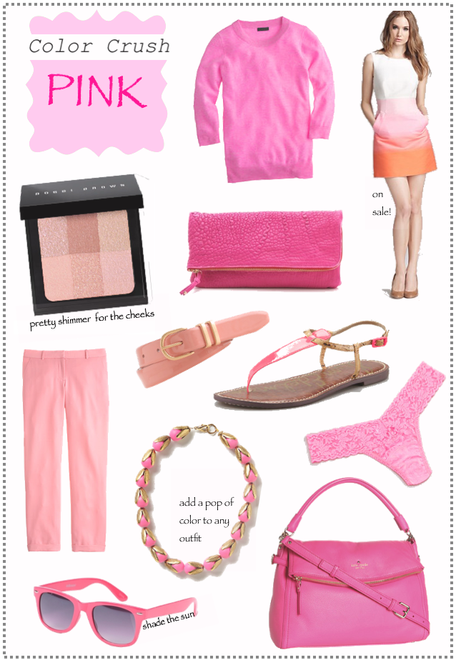 color crush pink…lalovesblog