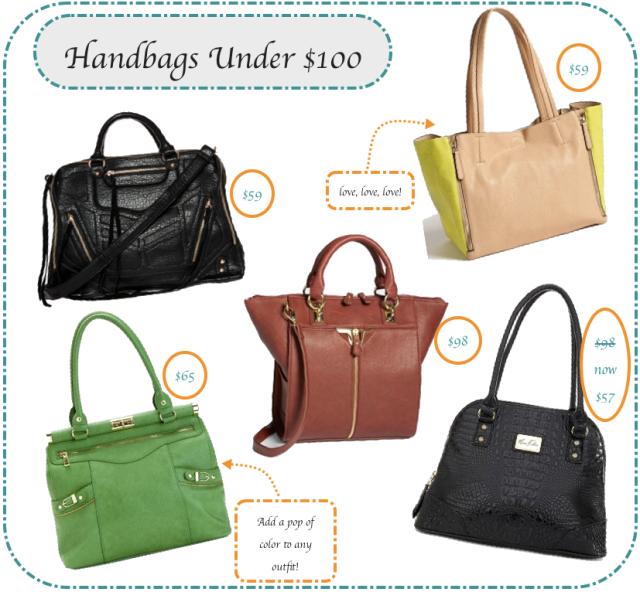 Handbags Under 100