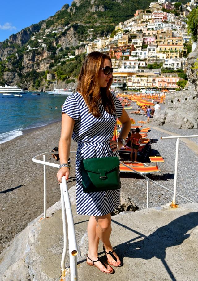 J.Crew dress in Italy